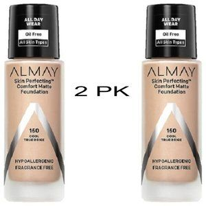 2PK Almay Skin Perfecting Foundation